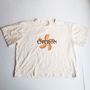 Madewell Citron Graphic Short Sleeve T-Shirt M